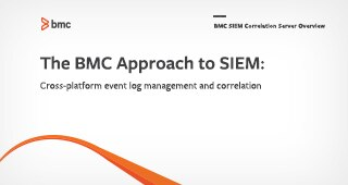 The BMC Approach to SIEM