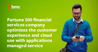 Fortune 500 Financial Services Firm Optimizes Cloud Use with Applications Managed Service