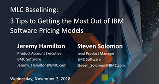 MLC Baselining: 3 Tips to Getting the Most Out of New IBM Pricing Models